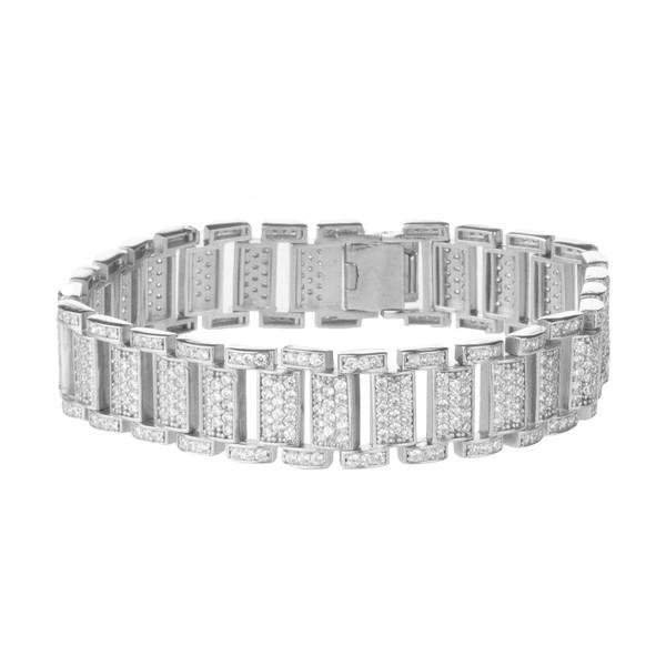 دستبند نقره زنانه سینانر کد SNR-R045
