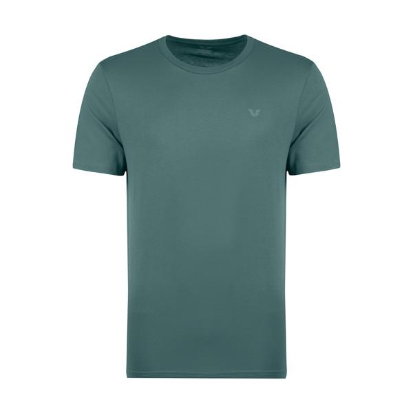 تیشرت آستین کوتاه مردانه بیلسی کد 8766 رنگ سبز