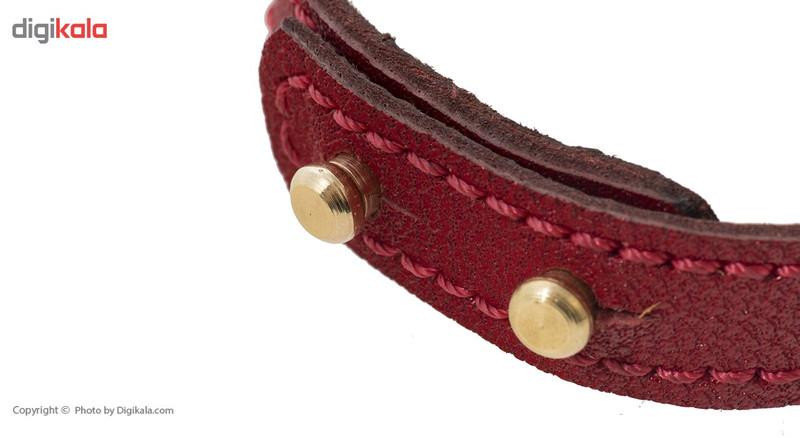 دستبند طلای 18 عیار رزا مدل BMG36