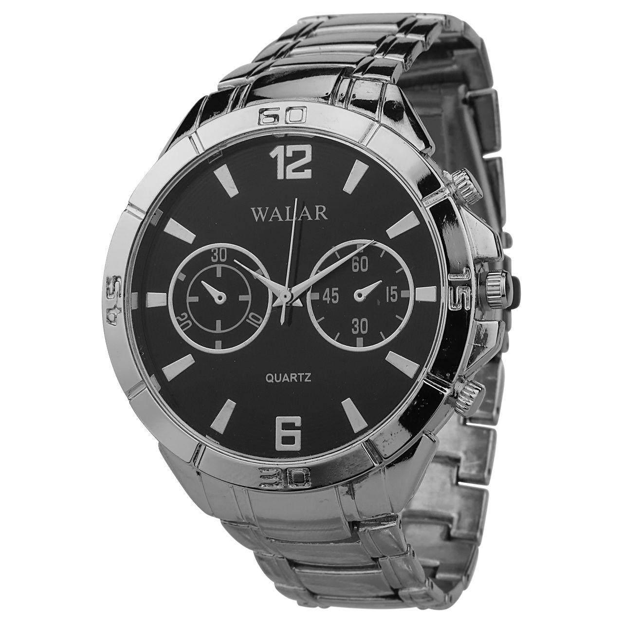 ساعت مچی عقربه ای مردانه والار کد MBS-444              خرید (⭐️⭐️⭐️)