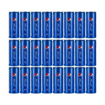 نوشابه گازدار پپسی - 250 میلی لیتر بسته 24 عددی