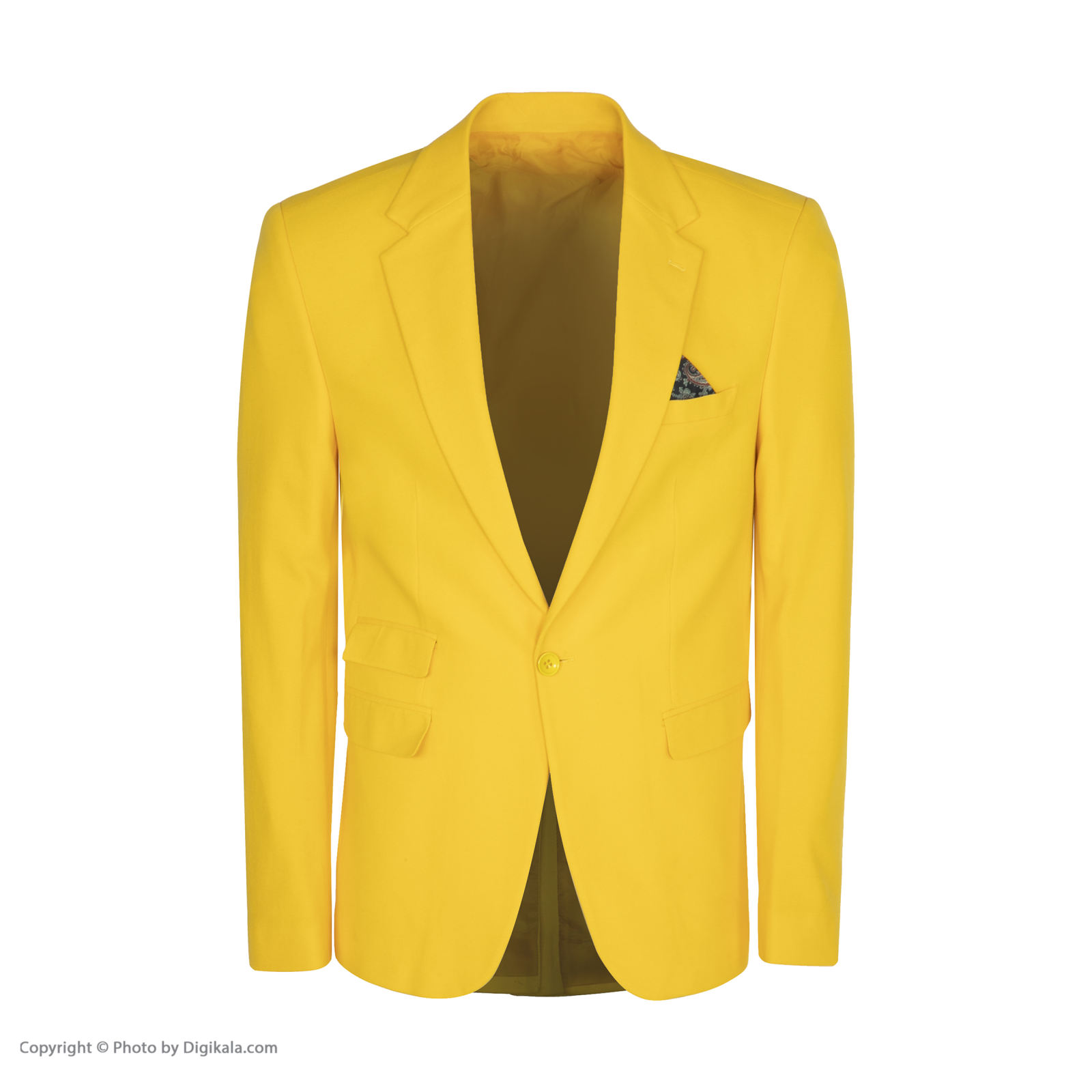 کت تک مردانه ان سی نو مدل جانسو رنگ زرد -  - 3