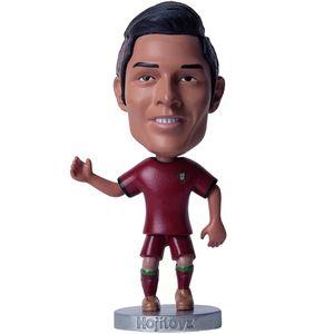 عروسک اسپرت فیگور هوجی تویز مدل Cristiano Ronaldo-Portugal سایز خیلی کوچک