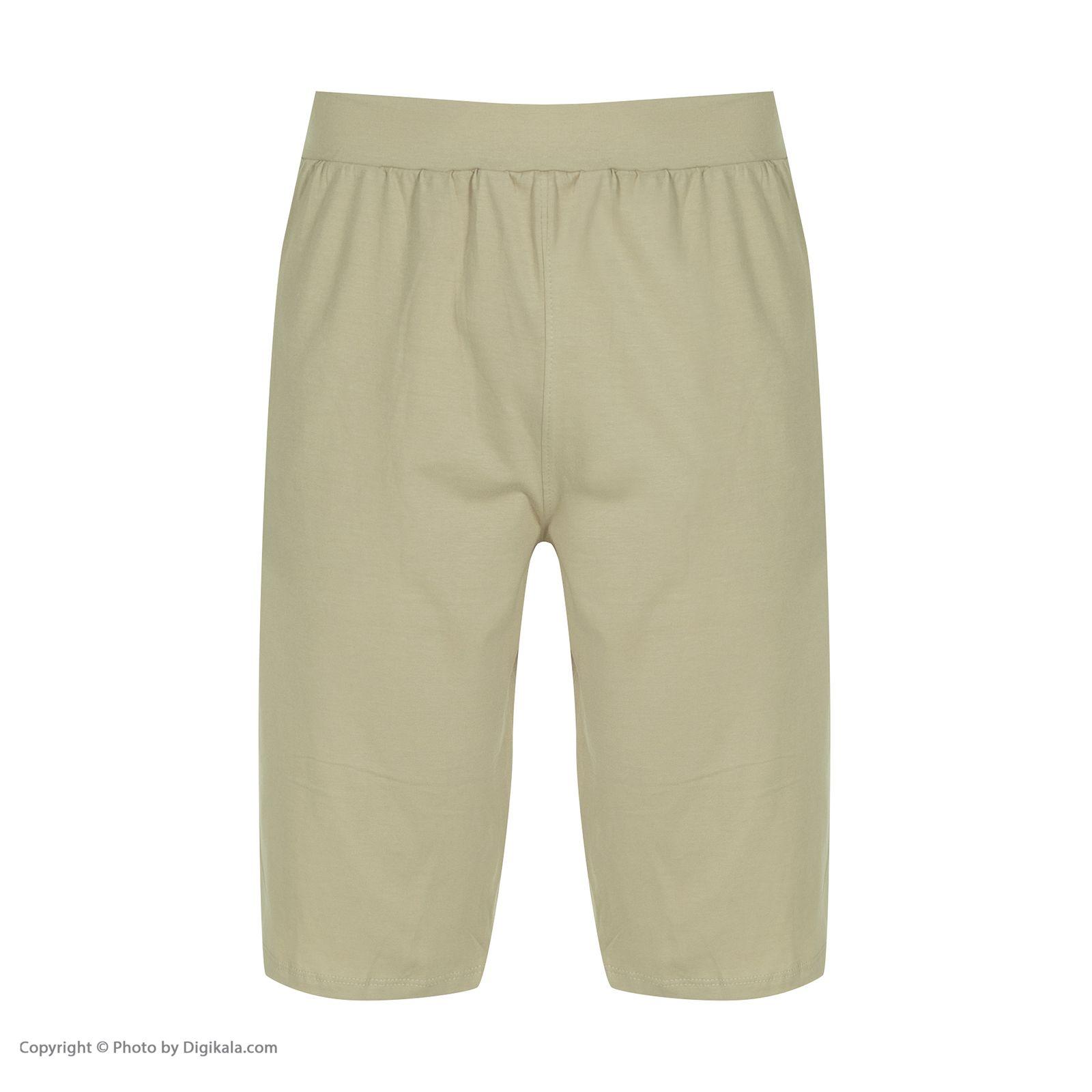 ست تی شرت و شلوارک راحتی مردانه مادر مدل 2041109-07 -  - 7