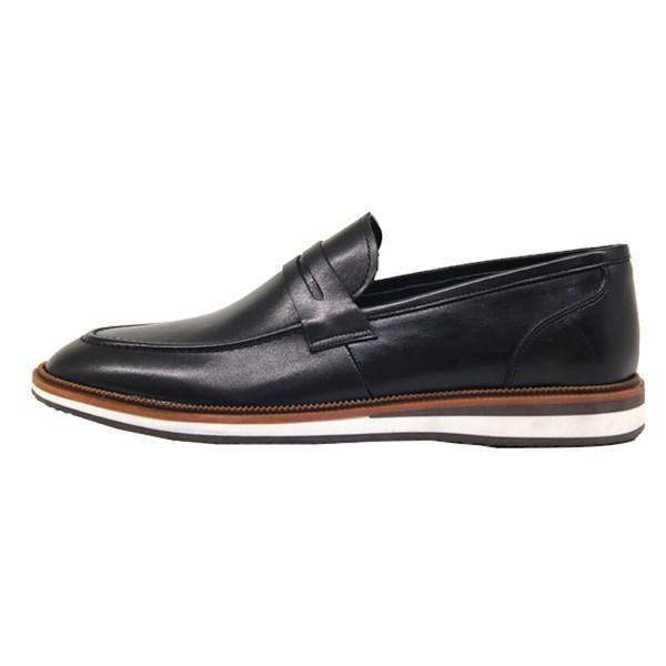 کفش روزمره مردانه چرم آرا مدل sh025 کد m