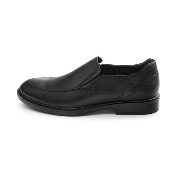 کفش مردانه مارال چرم مدل لایت kor-Black