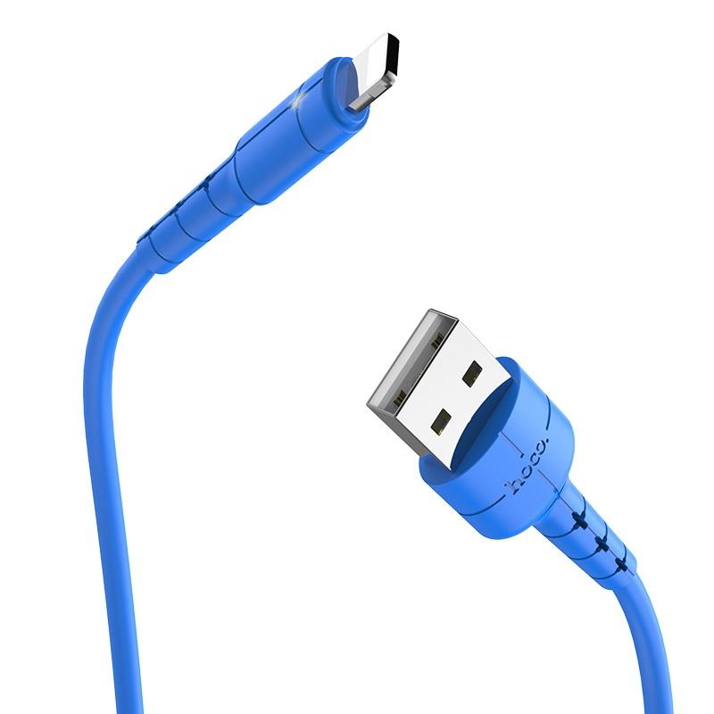 کابل تبدیل USB به لایتنینگ هوکو مدل X-30 طول 1.2 متر