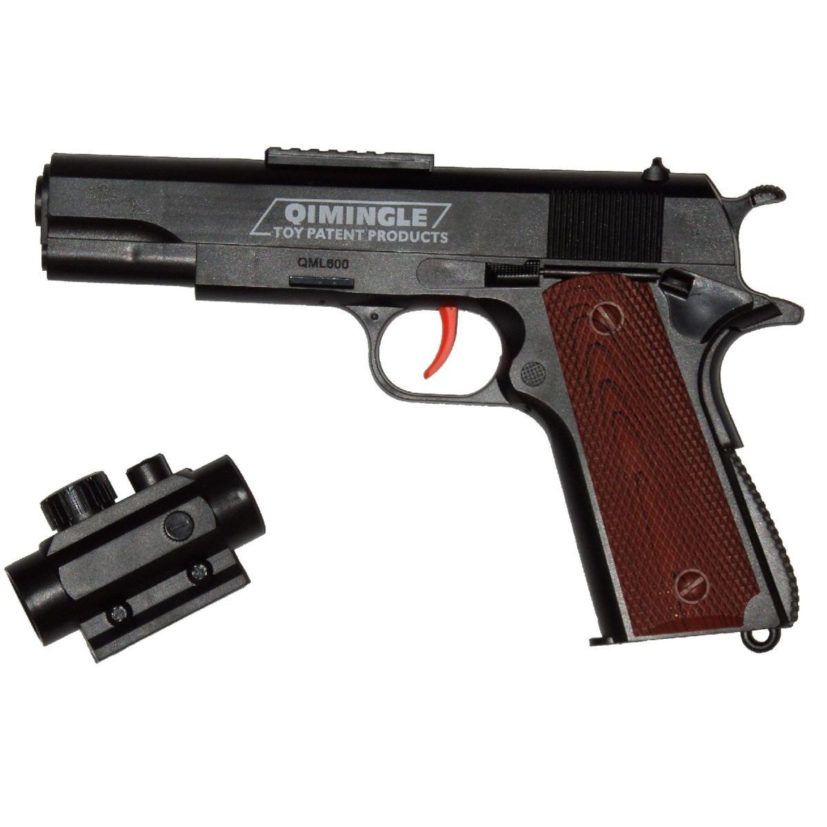 خرید                     تفنگ بازی طرح کلت مدل QM600
