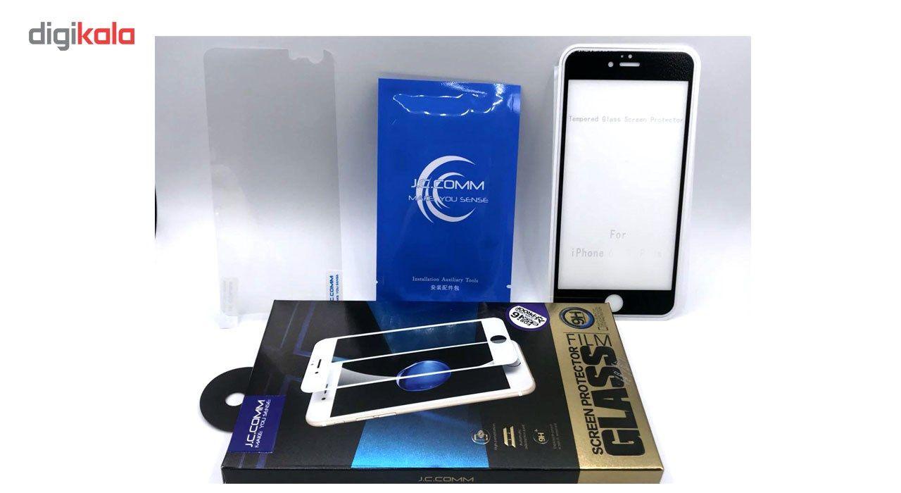 محافظ صفحه نمایش شیشه ای جی سی کام مناسب برای گوشی موبایل اپل آیفون 7/8 main 1 8
