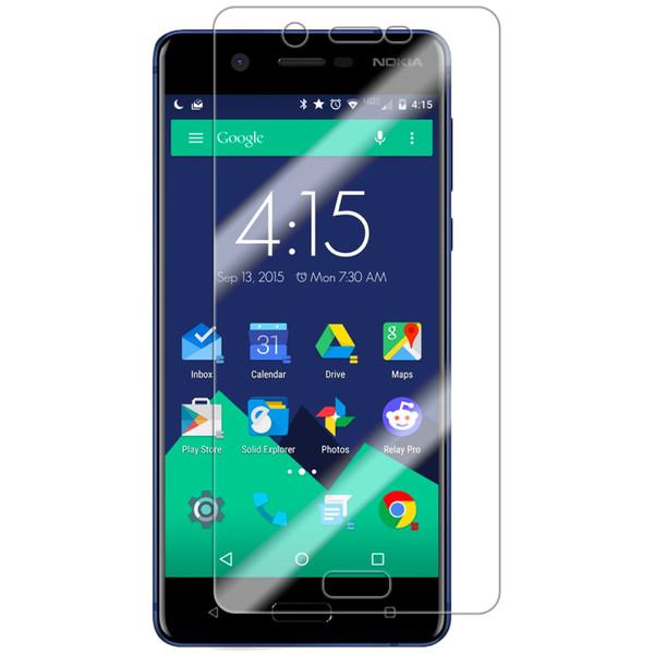 محافظ صفحه نمایش شیشه ای تمپرد هوکار  مناسب برای Nokia 5