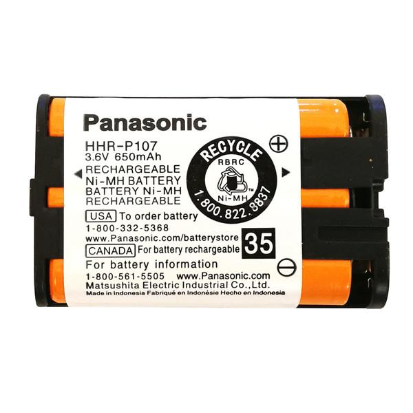 باتری قابل شارژ تلفن بی سیم پاناسونیک مدل P107-NIMH/MasND