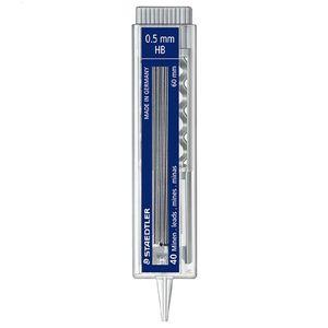 نوک مداد استدلر با قطر نوشتاری 0.5 میلی متر و درجه سختی HB