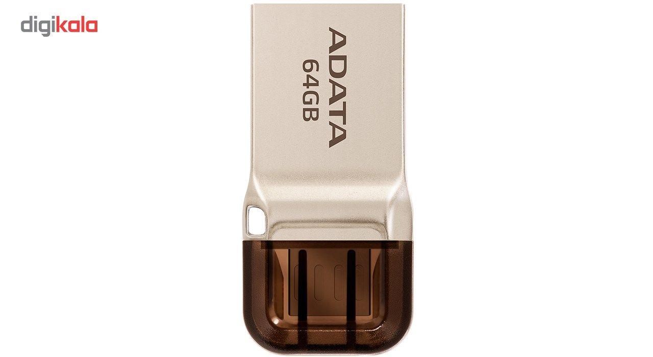 فلش مموری OTG ای دیتا مدل UC360 ظرفیت 64 گیگابایت  ADATA UC360 OTG Flash Memory – 64GB
