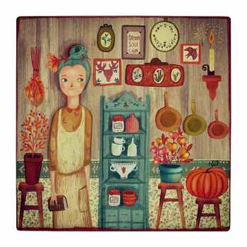 کاشی کارنیلا طرح آشپزخانه فانتزی کد wk453