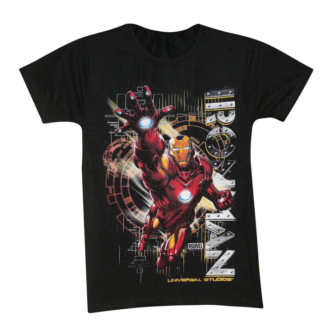 تی شرت پسرانه طرح آیرون من کد 32