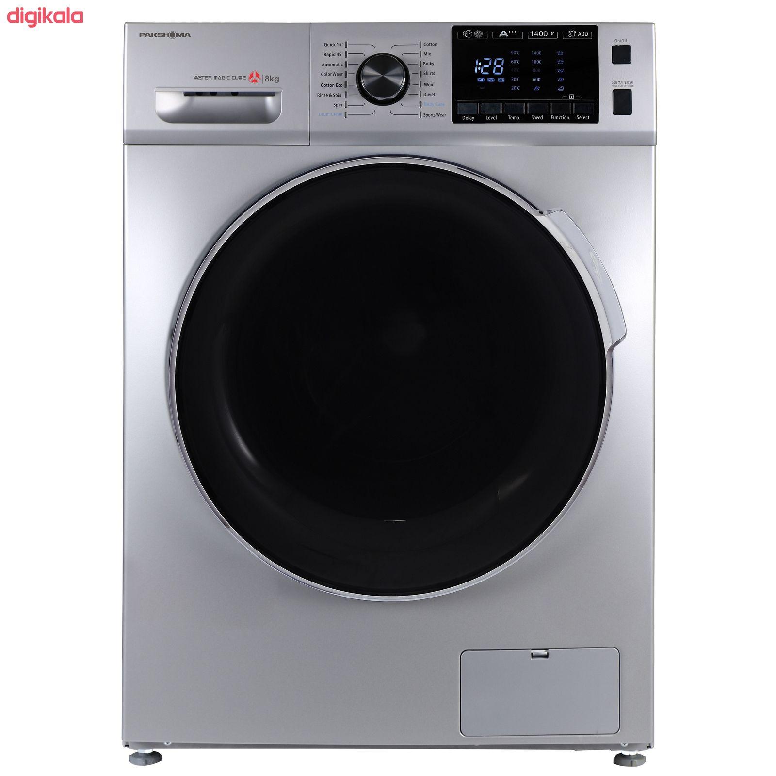 ماشین لباسشویی پاکشوما مدل TFU-84406 ظرفیت 8 کیلوگرم main 1 1