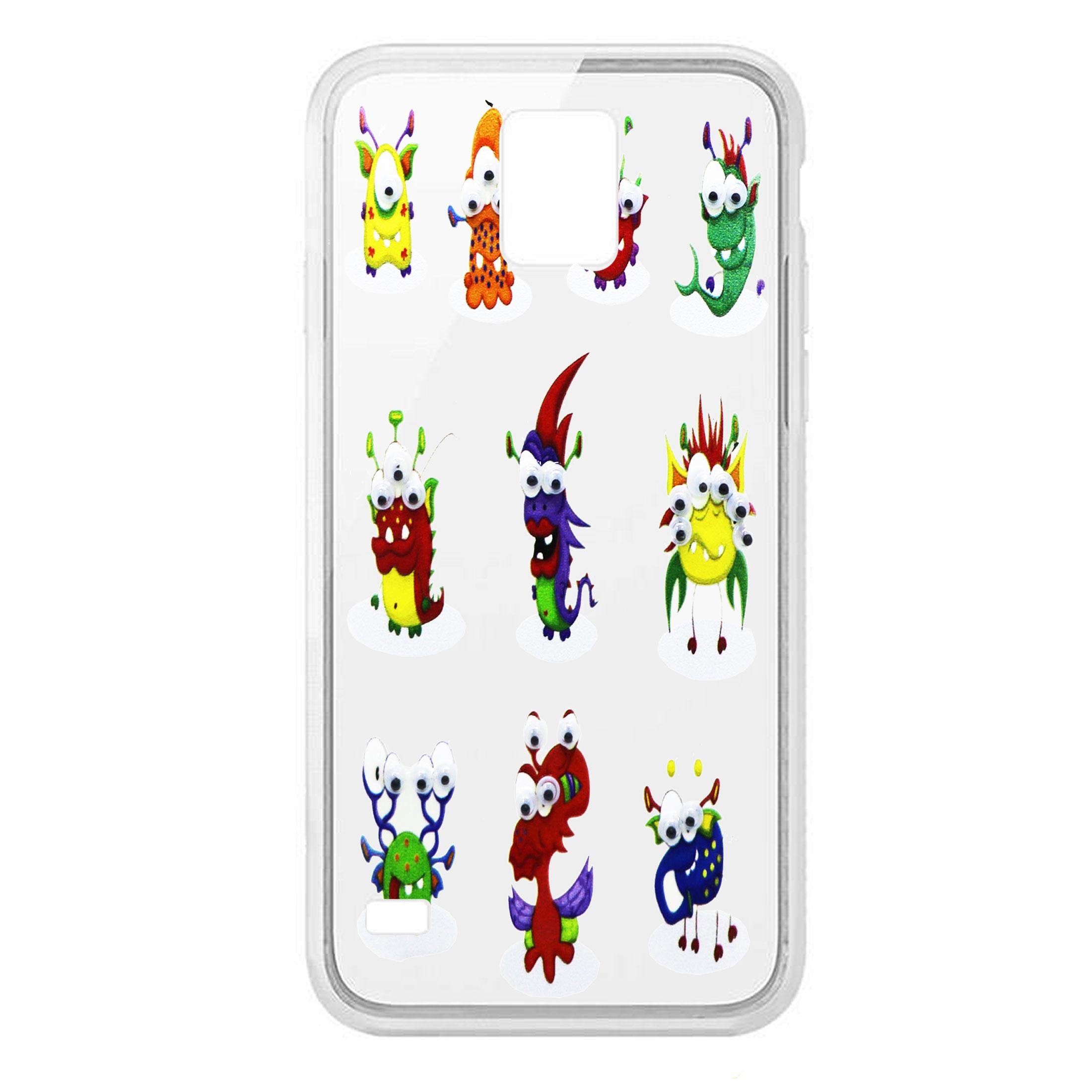 کاور طرح Aliens مدل CLR-099 مناسب برای گوشی موبایل سامسونگ Galaxy S5