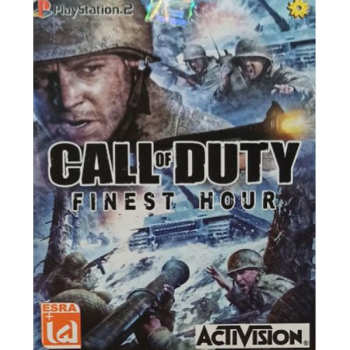 بازی CALL OF DUTY FINEST HOUR مخصوص PS2