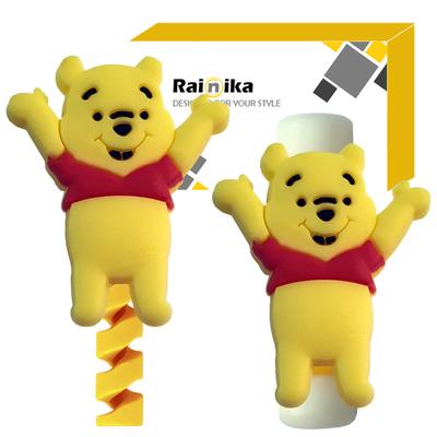 محافظ کابل رینیکا مدل Pooh D02 بسته 2 عددی