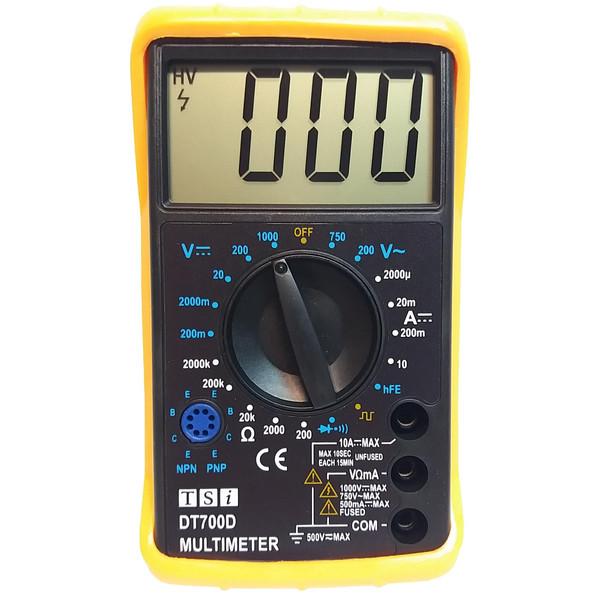 مولتی متر دیجیتال تی اس آی مدل DT700D