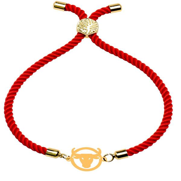 دستبند زنانه کرابو طرح گاو اردیبهشت مدل kb27-54
