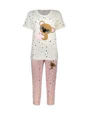 ست تی شرت و شلوارک راحتی زنانه مادر مدل 2041103-84 -  - 1