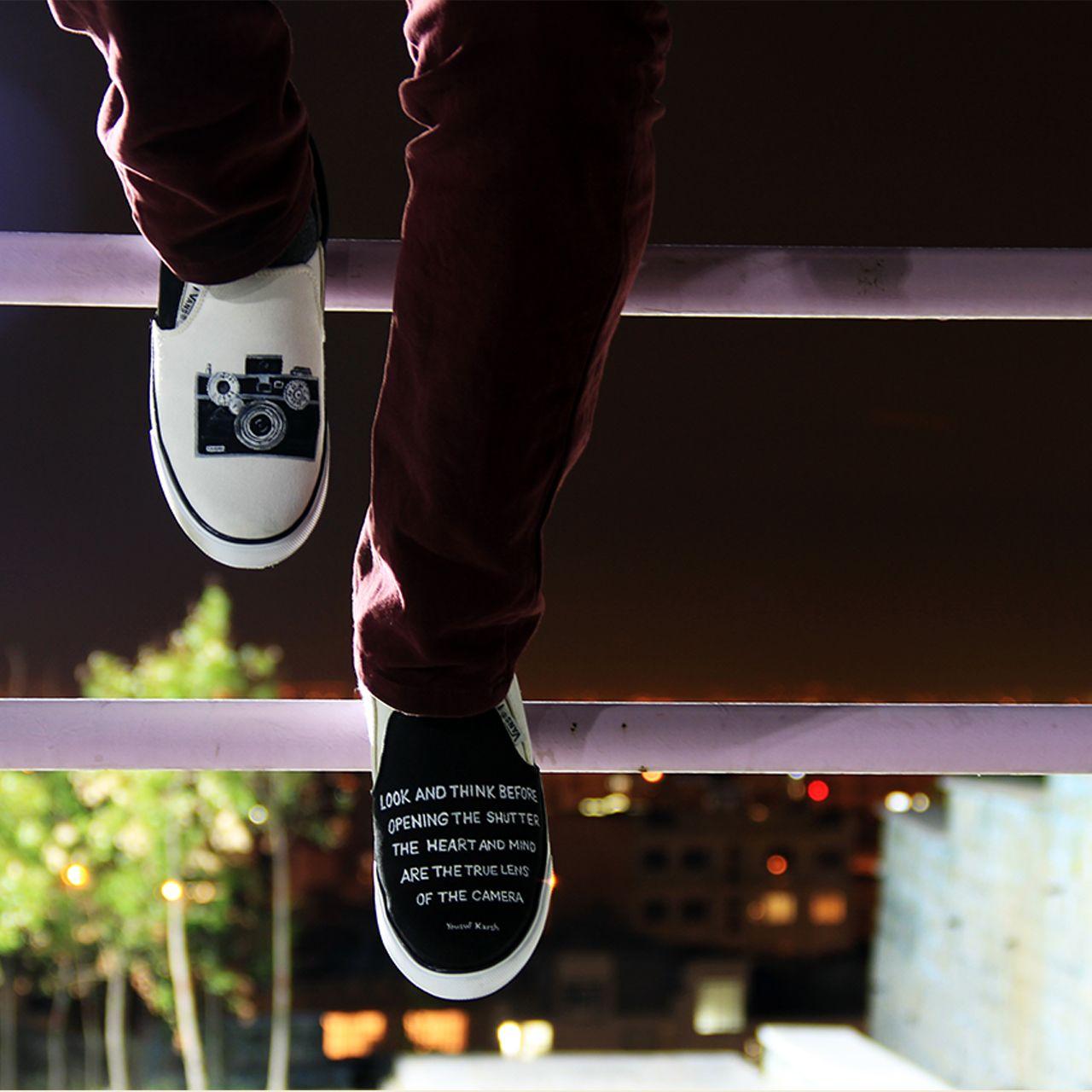 کفش روزمره زنانه دالاوین طرح دوربین کد V-2 -  - 2