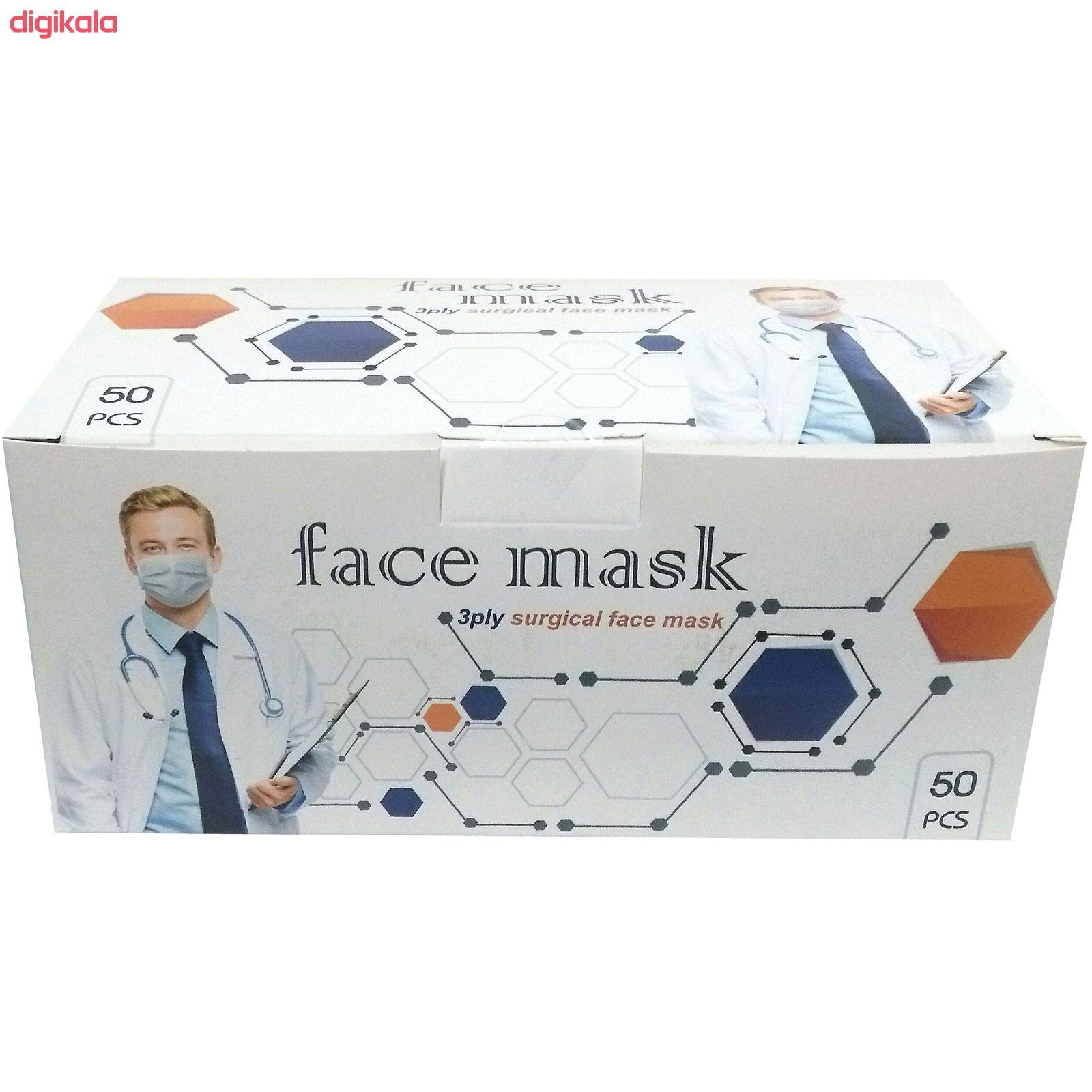 ماسک تنفسی بایکو مدل BS بسته 50 عددی main 1 1