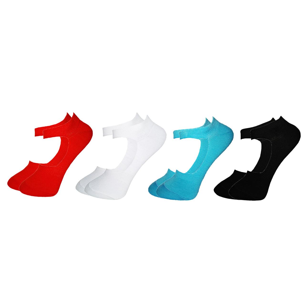 جوراب زنانه زند مدل B N - 4 R مجموعه 4 عددی