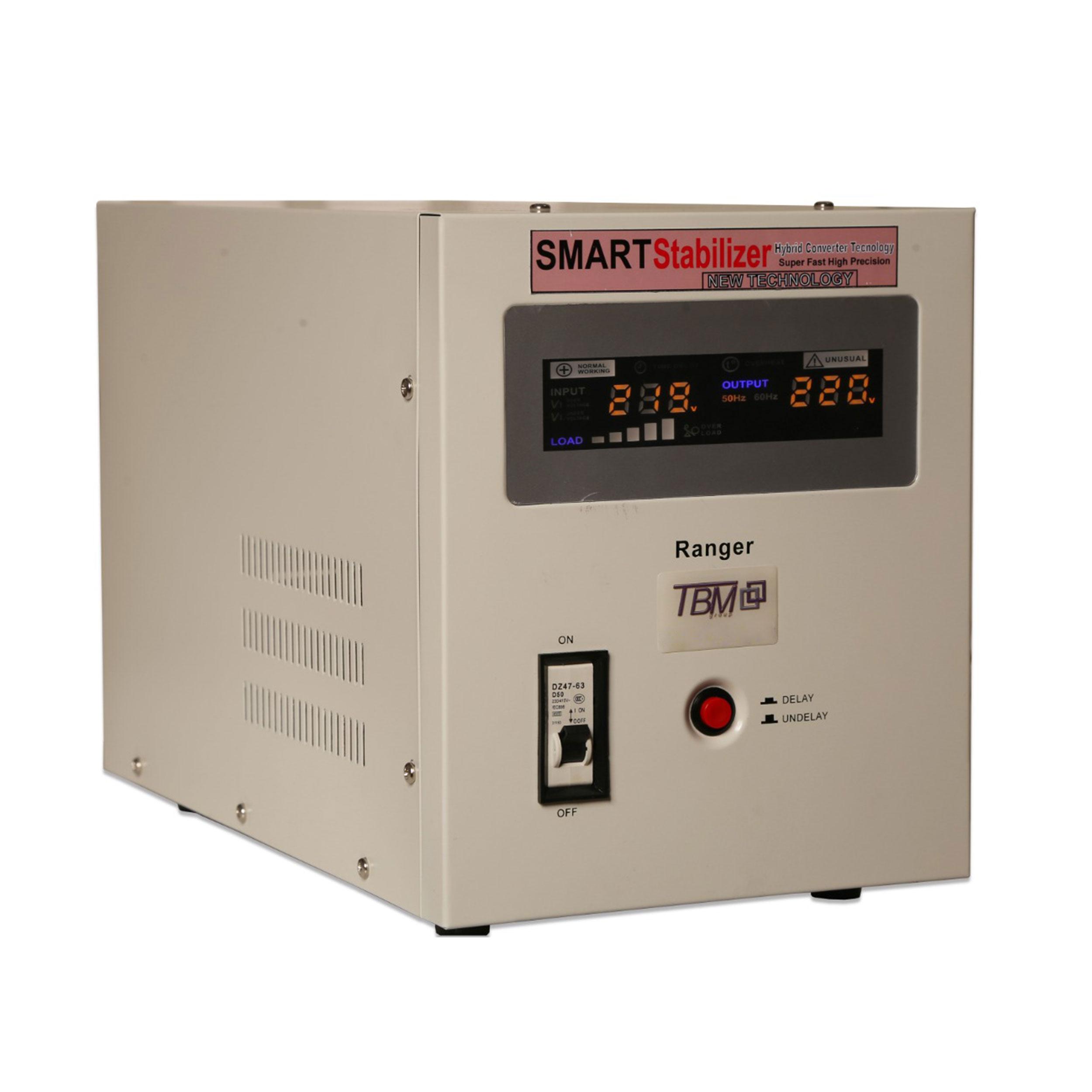 استابلایزر تی بی ام مدل RANGER 20C8k ظرفیت 8000 ولت آمپر