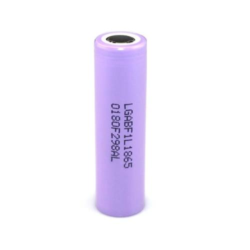 باتری لیتیوم یون ال جی مدل LGF1L18650 ظرفیت 3400 میلی آمپر