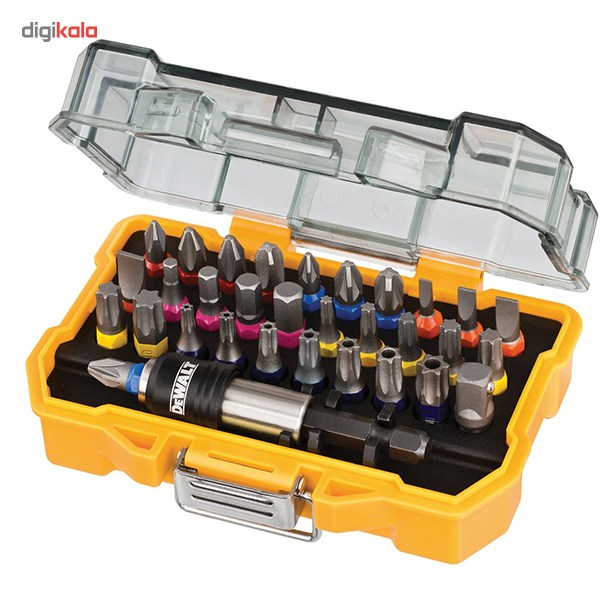 مجموعه 32 عددی سری پیچ گوشتی دیوالت مدل DT7969