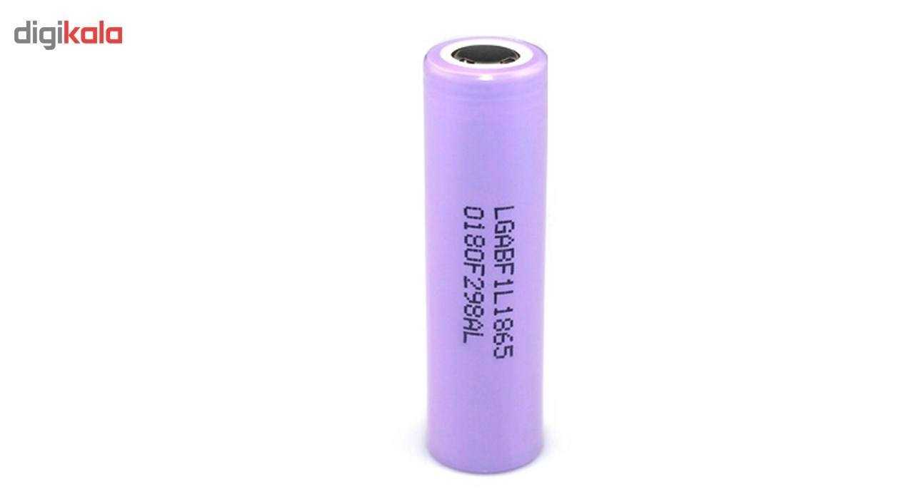 باتری لیتیوم یون ال جی مدل LGF1L18650 ظرفیت 3400 میلی آمپر main 1 1