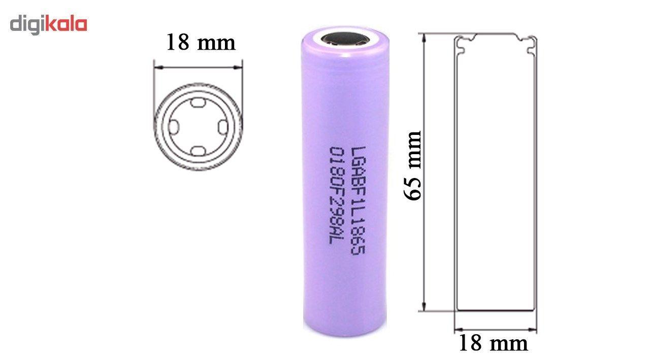 باتری لیتیوم یون ال جی مدل LGF1L18650 ظرفیت 3400 میلی آمپر main 1 3