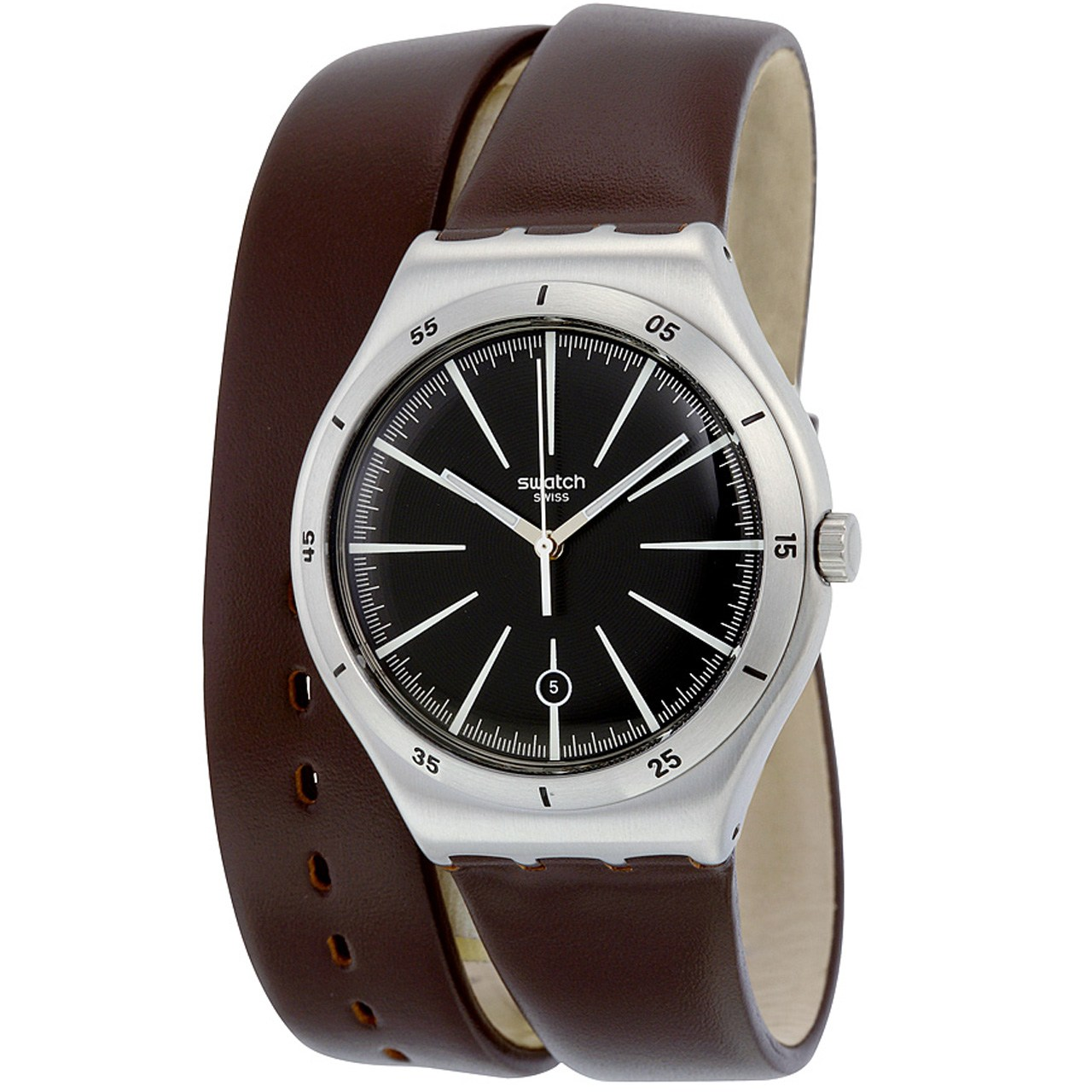 ساعت مچی عقربه ای مردانه سواچ مدل YWS409C 31