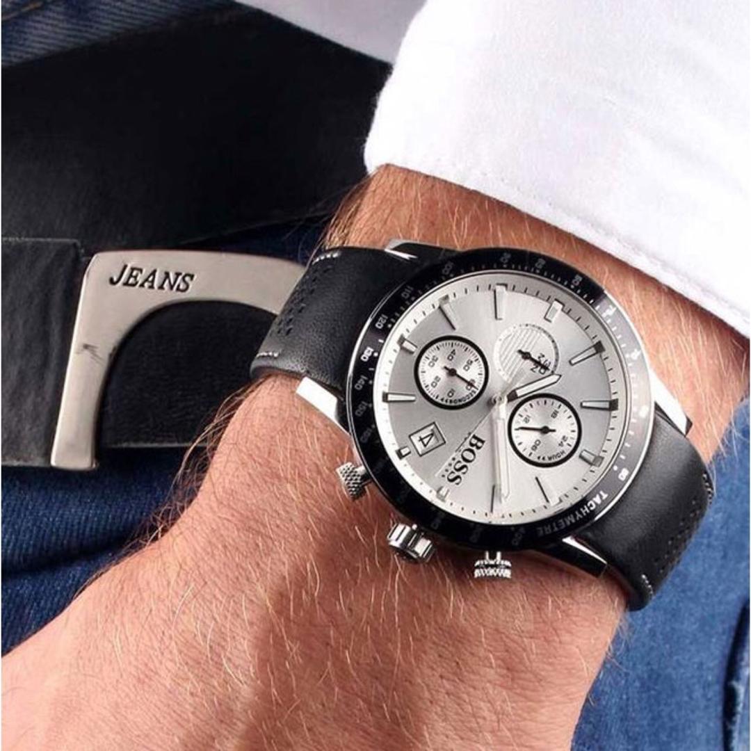 ساعت مچی عقربهای مردانه هوگو باس مدل 1513403