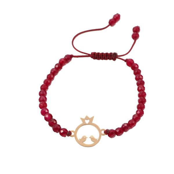 دستبند طلا 18 عیار سپیده گالری SBR0002
