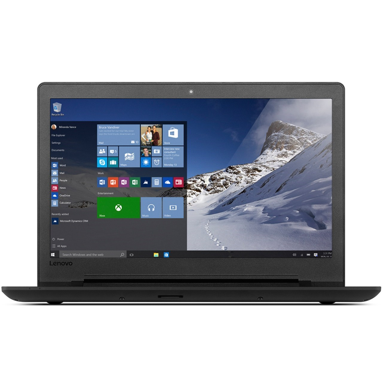 لپ تاپ 15 اینچی لنوو مدل Ideapad 110 - C