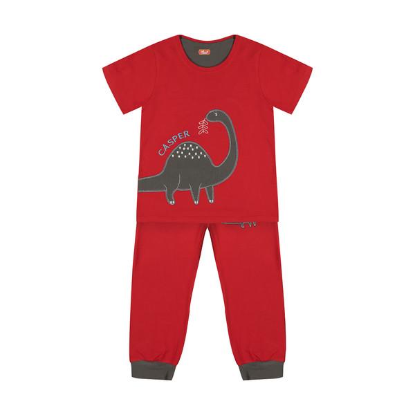 ست تی شرت و شلوار راحتی پسرانه مادر مدل 2041106-74