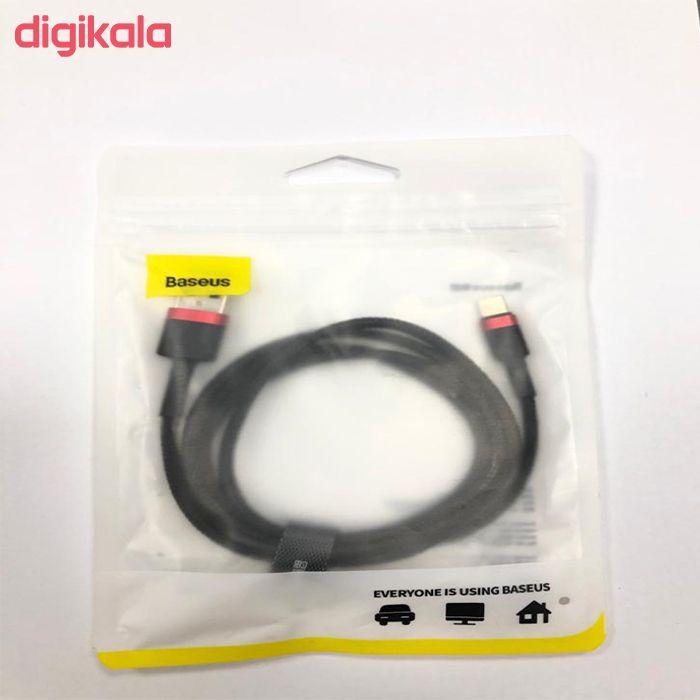 کابل تبدیل USB به لایتنینگ باسئوس مدل CALKLF-B19 طول 1متر main 1 3