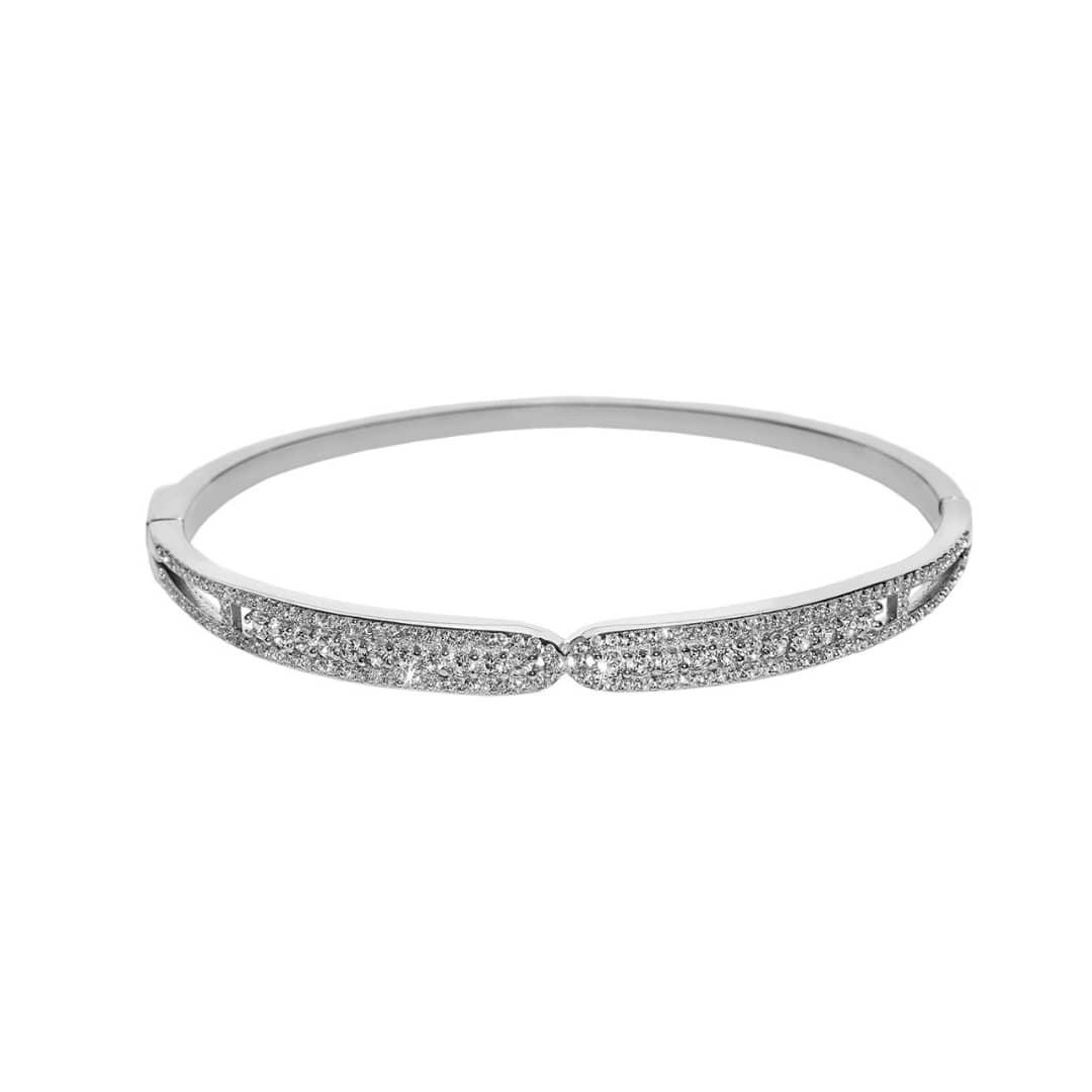 دستبند نقره زنانه کوبیک کد QB-0102