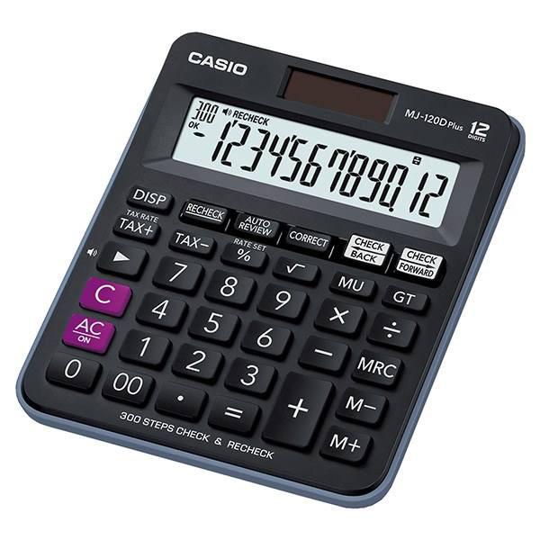 ماشین حساب کاسیو مدل MJ-120DPLUS