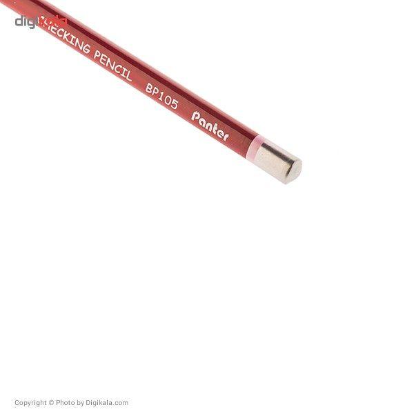 مداد قرمز پنتر مدل Checking Pencil - بسته 12 عددی main 1 6