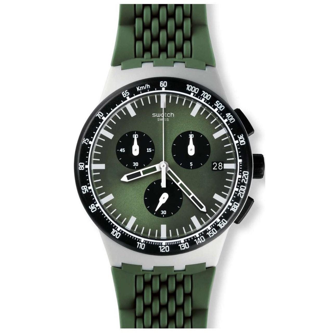 ساعت مچی عقربه ای مردانه سواچ مدل SUSM402