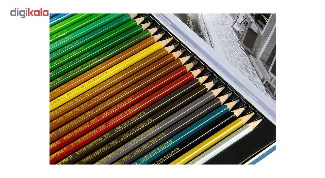 مداد رنگی 48 رنگ پیکاسو مدل Superb Writer طرح ونیز main 1 4
