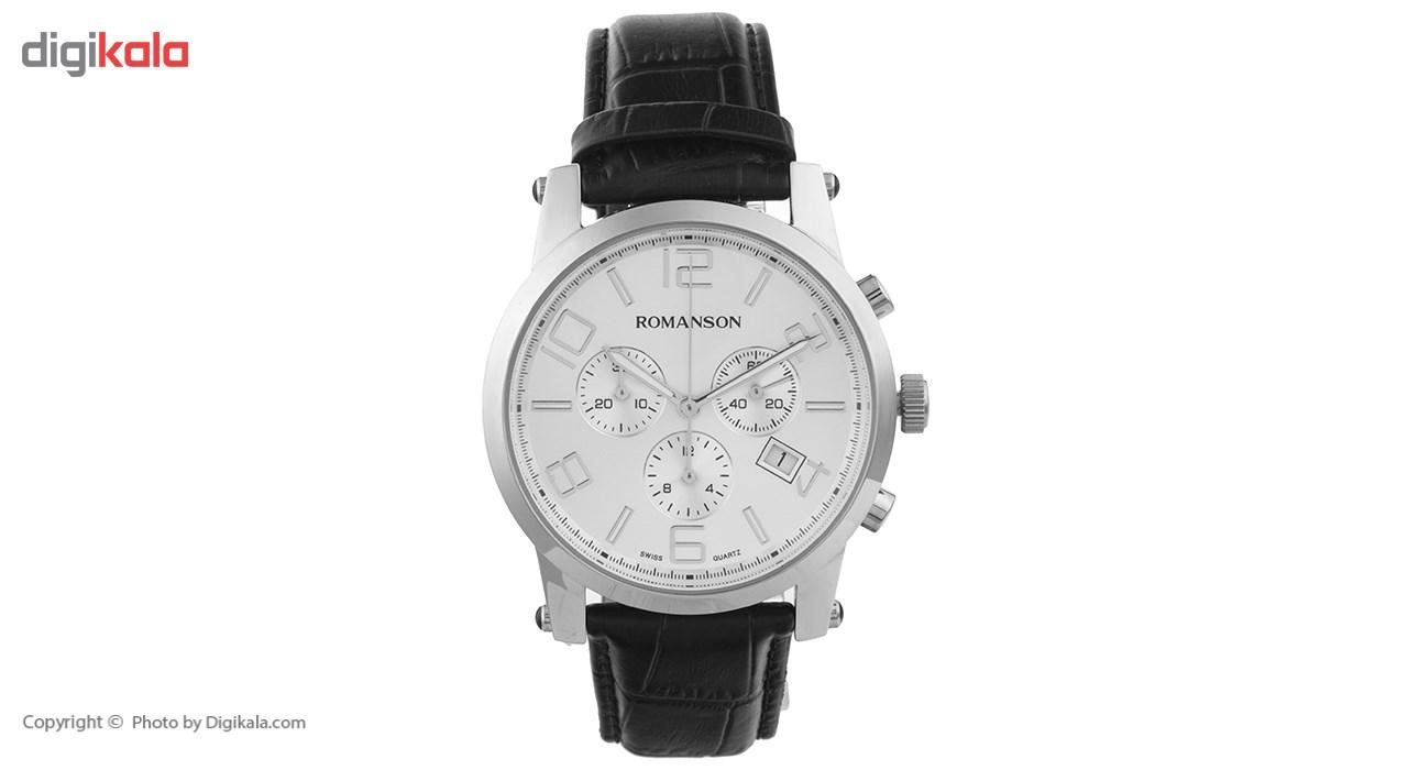 ساعت  رومانسون مدل TL0334PM1WAS2W