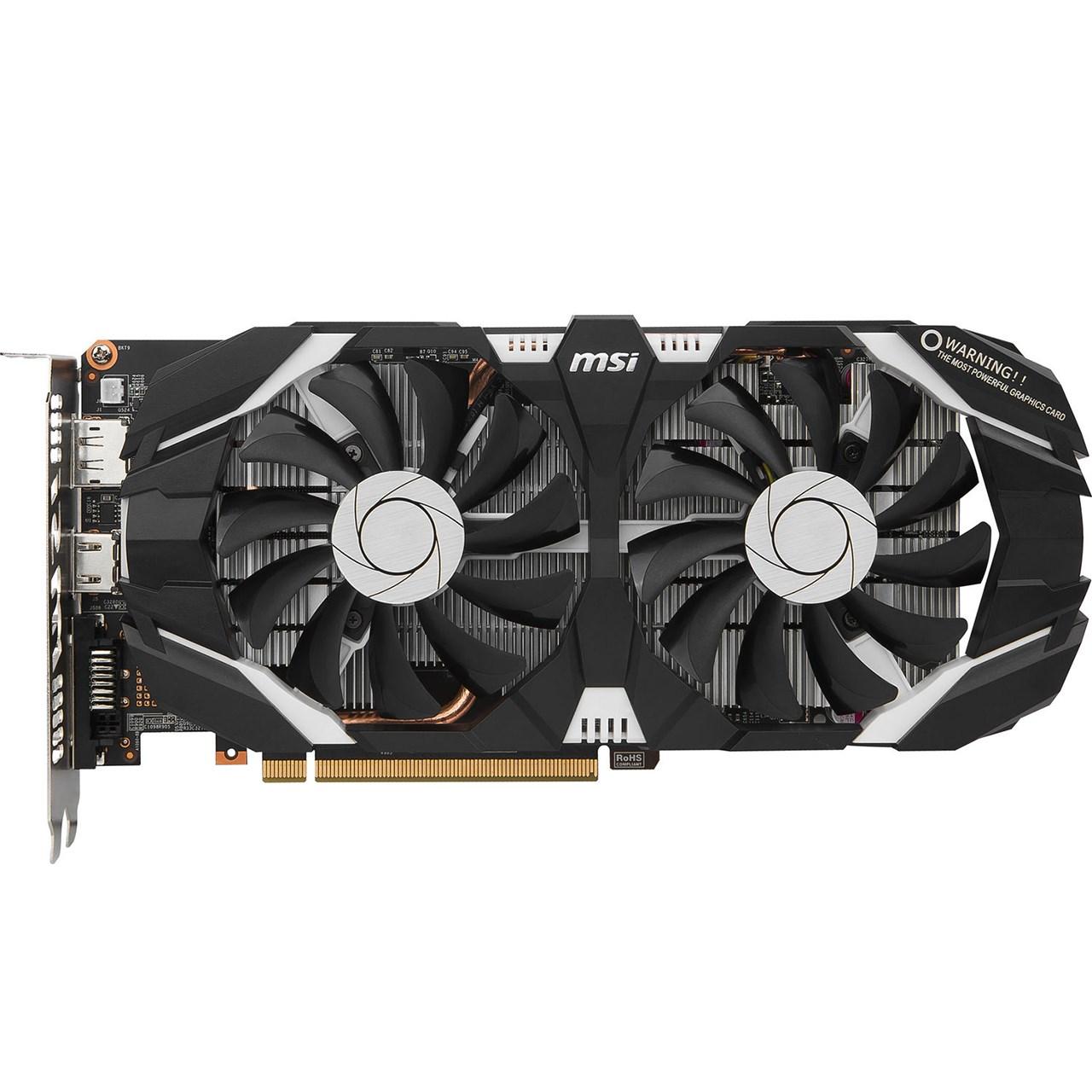 کارت گرافیک ام اس آی مدل GeForce GTX 1060 6GT OCV2