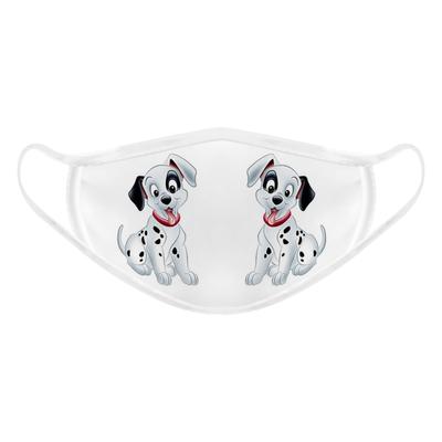 ماسک تزیینی صورت بچگانه طرح سگ خالخالی کد 617015