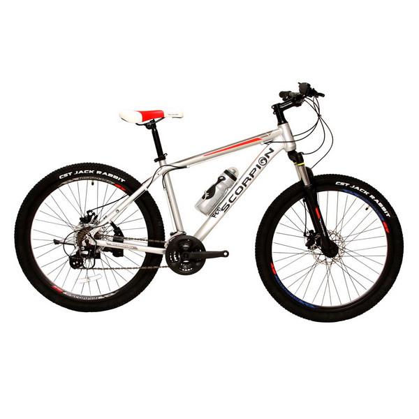 دوچرخه اسکورپیون مدلRs 260 Ys 7605 Matt Silver  سایز 26