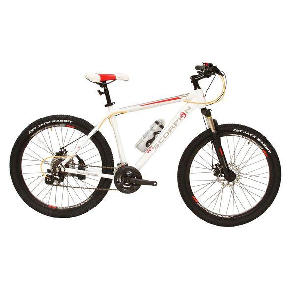 دوچرخه کوهستان اسکورپیون مدل RS260 YS701 Matt White 2017 سایز 26